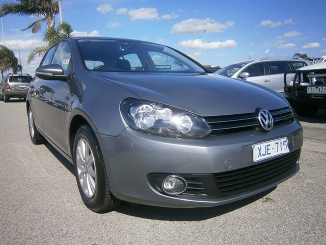 Used Volkswagen Golf VI 90TSI Trendline Cheltenham, 2009 Volkswagen Golf VI 90TSI Trendline Grey 6 Speed Manual Hatchback