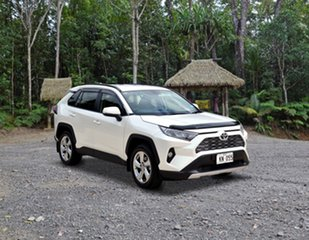 Toyota RAV4 Mid Spec White Pearl Automatic.