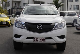 2018 Mazda BT-50 UR0YG1 XT Freestyle White 6 Speed Sports Automatic Cab Chassis