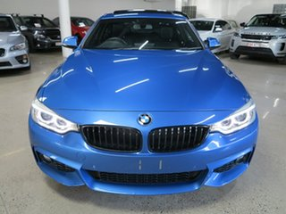 2015 BMW 4 Series F32 428i M Sport Estoril Blue 8 Speed Sports Automatic Coupe
