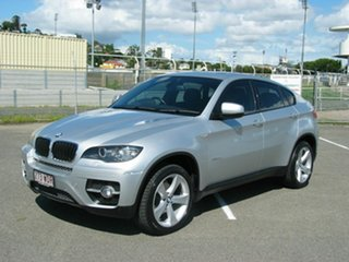 2011 BMW X6 E71 MY11 xDrive30d Silver 8 Speed Automatic Coupe