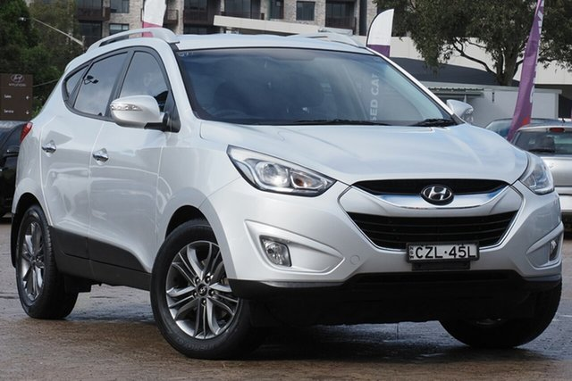 Used Hyundai ix35 LM Series II Elite (FWD) Rosebery, 2015 Hyundai ix35 LM Series II Elite (FWD) Silver 6 Speed Automatic Wagon
