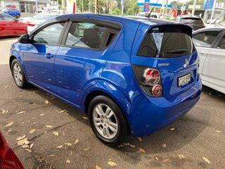 2011 Holden Barina TM Blue 6 Speed Automatic Hatchback.