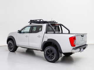 2016 Nissan Navara NP300 D23 RX (4x4) Silver 6 Speed Manual Double Cab Chassis