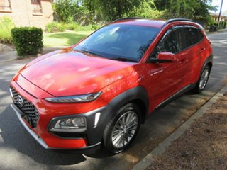 2017 Hyundai Kona OS MY18 Elite 2WD Tangerine Comet & Black Roof 6 Speed Sports Automatic Wagon