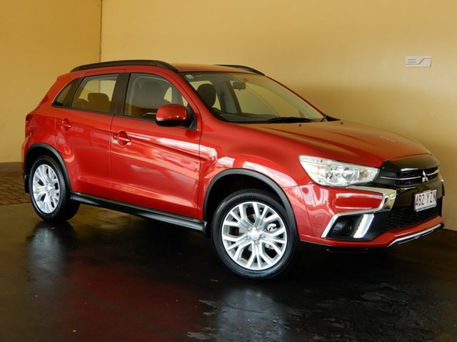 Used Mitsubishi ASX XC MY19 ES (2WD) Toowoomba, 2019 Mitsubishi ASX XC MY19 ES (2WD) Red Continuous Variable Wagon