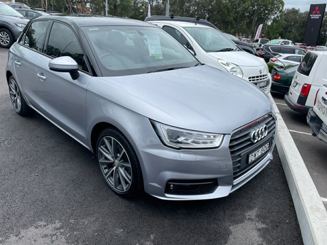 Used Audi A1 8X MY18 Sport Sportback S Tronic Maitland, 2018 Audi A1 8X MY18 Sport Sportback S Tronic Silver 7 Speed Sports Automatic Dual Clutch Hatchback