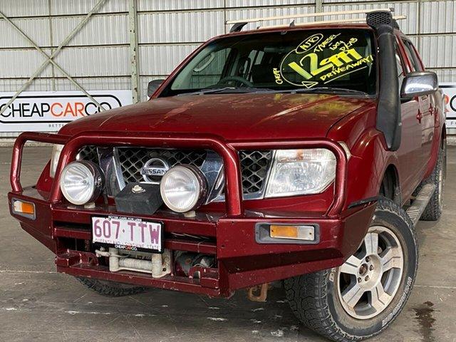 Used Nissan Navara D40 ST-X Rocklea, 2007 Nissan Navara D40 ST-X Red 5 Speed Automatic Utility