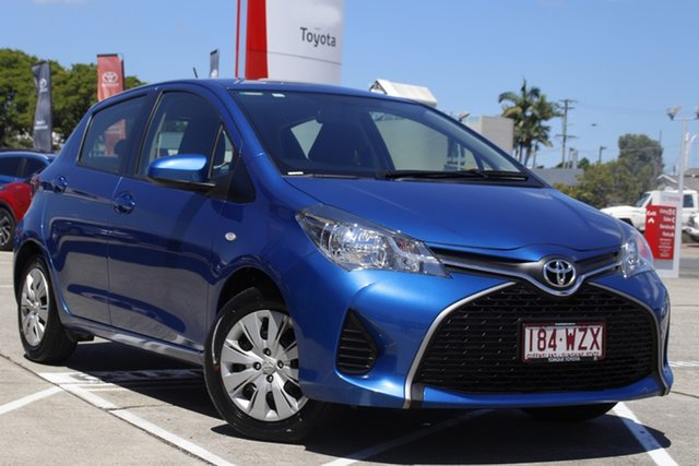 Pre-Owned Toyota Yaris NCP130R Ascent Albion, 2016 Toyota Yaris NCP130R Ascent Tidal Blue 4 Speed Automatic Hatchback