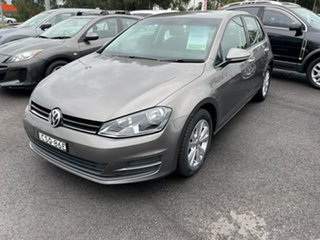 2014 Volkswagen Golf VII MY14 90TSI DSG Grey 7 Speed Sports Automatic Dual Clutch Hatchback