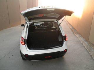 2012 Nissan Dualis J107 Series 3 MY12 +2 Hatch X-tronic 2WD Ti-L White & Black 6 Speed