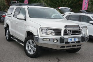 2014 Volkswagen Amarok 2H MY14 TDI420 4Motion Perm Candy White 8 Speed Automatic Utility