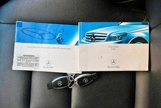 2007 Mercedes-Benz C-Class W204 C220 CDI Avantgarde Beige 5 Speed Automatic Sedan.