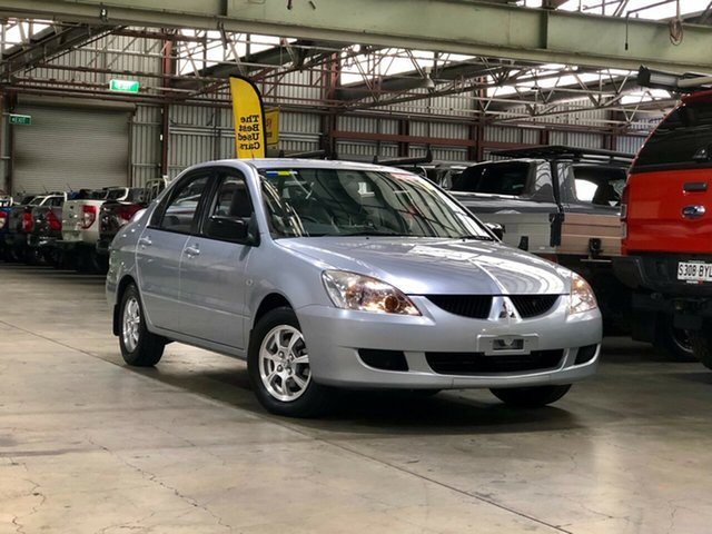 Used Mitsubishi Lancer CH ES Mile End South, 2004 Mitsubishi Lancer CH ES Silver 4 Speed Automatic Sedan