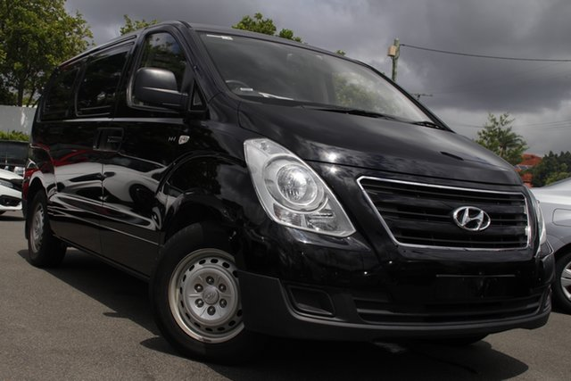 Used Hyundai iLOAD TQ3-V Series II MY17 Mount Gravatt, 2017 Hyundai iLOAD TQ3-V Series II MY17 Black 5 Speed Automatic Van