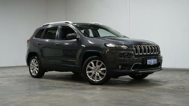 Used Jeep Cherokee KL MY15 Limited Welshpool, 2015 Jeep Cherokee KL MY15 Limited Grey 9 Speed Sports Automatic Wagon