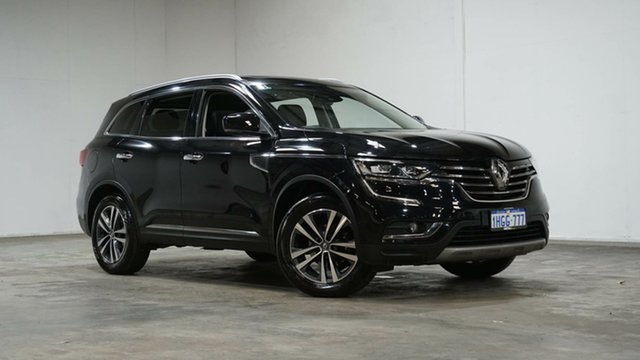 Used Renault Koleos HZG Intens X-tronic Welshpool, 2017 Renault Koleos HZG Intens X-tronic Black 1 Speed Constant Variable Wagon