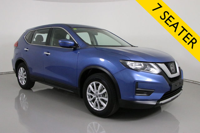 Used Nissan X-Trail T32 Series 2 ST 7 Seat (2WD) Bentley, 2019 Nissan X-Trail T32 Series 2 ST 7 Seat (2WD) Blue Continuous Variable Wagon