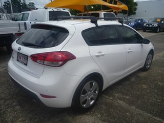 2018 Kia Cerato BD MY19 S White 6 Speed Sports Automatic Hatchback