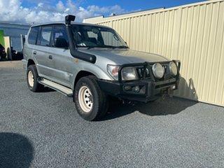 1998 Toyota Landcruiser Prado Silver Wagon