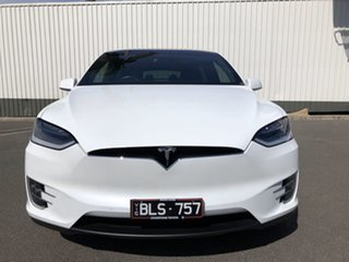 2017 Tesla Model X 100D AWD White 1 Speed Reduction Gear Wagon