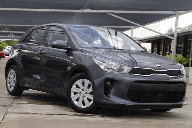 Used Kia Rio YB MY20 S Bundamba, 2019 Kia Rio YB MY20 S Grey 4 Speed Sports Automatic Hatchback