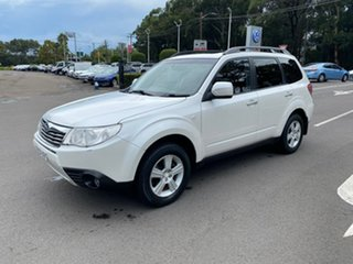 2008 Subaru Forester S3 MY09 XS AWD White 4 Speed Sports Automatic Wagon.