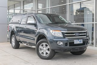2013 Ford Ranger PX XLT Super Cab 4x2 Hi-Rider Grey 6 Speed Sports Automatic Utility