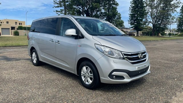 New LDV G10 SV7A Port Macquarie, 2020 LDV G10 SV7A Aurora Silver 6 Speed Sports Automatic Wagon