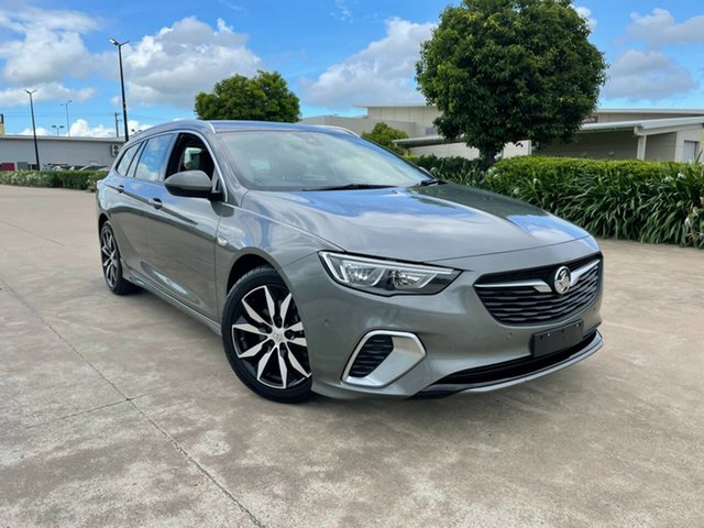 Used Holden Commodore ZB MY18 RS Sportwagon Townsville, 2018 Holden Commodore ZB MY18 RS Sportwagon Grey/080419 9 Speed Sports Automatic Wagon