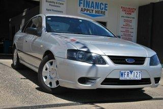 2007 Ford Falcon BF MkII 07 Upgrade XT Silver 4 Speed Auto Seq Sportshift Sedan.