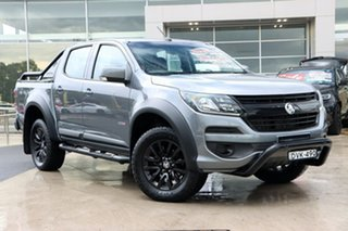 2018 Holden Colorado RG MY18 LS Pickup Crew Cab Satin Grey 6 Speed Sports Automatic Utility.