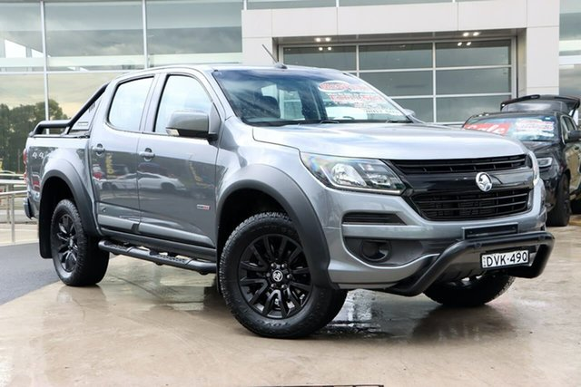 Used Holden Colorado RG MY18 LS Pickup Crew Cab Liverpool, 2018 Holden Colorado RG MY18 LS Pickup Crew Cab Satin Grey 6 Speed Sports Automatic Utility