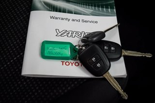 2016 Toyota Yaris NCP130R Ascent Grey 4 Speed Automatic Hatchback