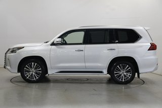2019 Lexus LX VDJ201R LX450d Pearl White 6 Speed Sports Automatic Wagon.