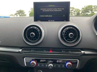 2019 Audi A3 8V MY19 35 TFSI S Tronic S Line Plus White 7 Speed Sports Automatic Dual Clutch Sedan