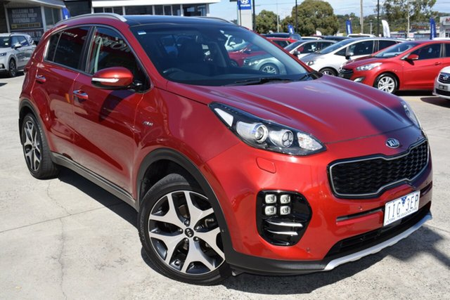 Used Kia Sportage QL MY16 Platinum AWD Ferntree Gully, 2016 Kia Sportage QL MY16 Platinum AWD Red 6 Speed Sports Automatic Wagon