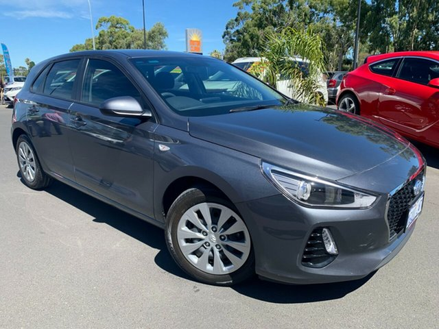Used Hyundai i30 PD2 MY19 Active Bunbury, 2019 Hyundai i30 PD2 MY19 Active Grey 6 Speed Sports Automatic Hatchback