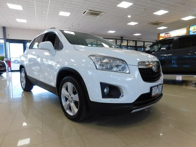 Used Holden Trax TJ MY14 LTZ Wonthaggi, 2014 Holden Trax TJ MY14 LTZ White 6 Speed Automatic Wagon