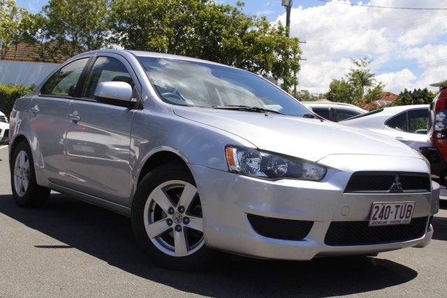 Used Mitsubishi Lancer CJ MY13 ES Mount Gravatt, 2013 Mitsubishi Lancer CJ MY13 ES Silver 6 Speed Constant Variable Sedan