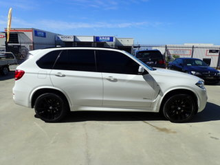 2016 BMW X5 F15 MY16 xDrive30d Polar White 8 Speed Automatic Wagon