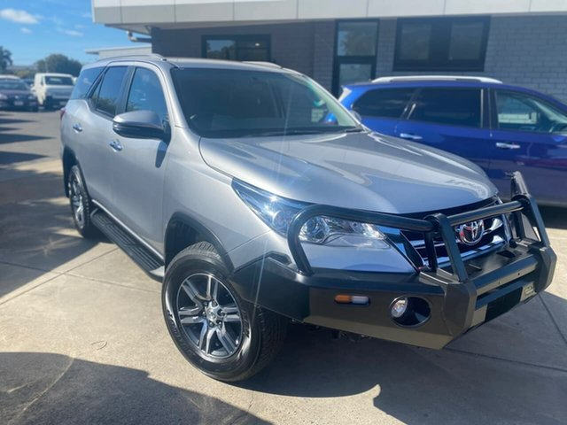 Used Toyota Fortuner GUN156R GXL Hillcrest, 2019 Toyota Fortuner GUN156R GXL Silver 6 Speed Automatic Wagon