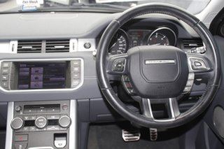 2012 Land Rover Range Rover Evoque L538 MY12 SD4 CommandShift Dynamic Black 6 Speed Sports Automatic