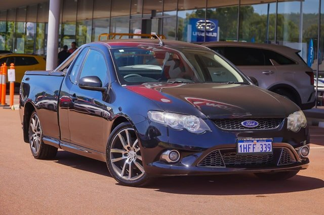 Used Ford Falcon FG XR6 Ute Super Cab Limited Edition Gosnells, 2011 Ford Falcon FG XR6 Ute Super Cab Limited Edition Black 6 Speed Sports Automatic Utility