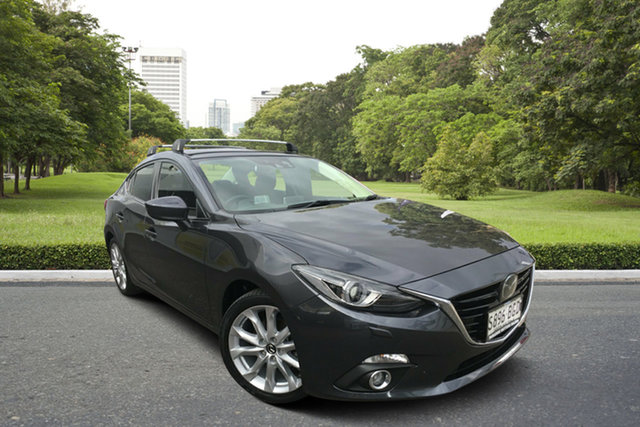 Used Mazda 3 BM5236 SP25 SKYACTIV-MT Astina Paradise, 2015 Mazda 3 BM5236 SP25 SKYACTIV-MT Astina Grey 6 Speed Manual Sedan