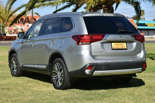 2017 Mitsubishi Outlander ZK MY18 LS AWD Safety Pack Silver 6 Speed Sports Automatic Wagon