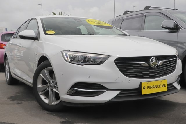Used Holden Commodore ZB MY18 RS Sportwagon Aspley, 2018 Holden Commodore ZB MY18 RS Sportwagon White 9 Speed Sports Automatic Wagon