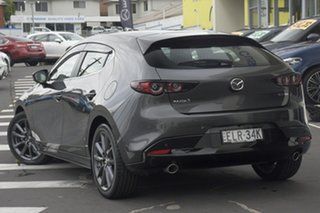 2020 Mazda 3 BP2H76 G20 SKYACTIV-MT Evolve Machine Grey 6 Speed Manual Hatchback.