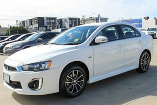2017 Mitsubishi Lancer CF MY17 ES Sport White 6 Speed Constant Variable Sedan