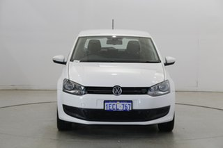 2013 Volkswagen Polo 6R MY13.5 77TSI DSG Comfortline White 7 Speed Sports Automatic Dual Clutch.